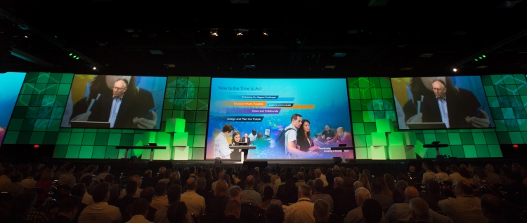 The 2016 Esri User Conference hosted more than 16,000 users from 138 countries.