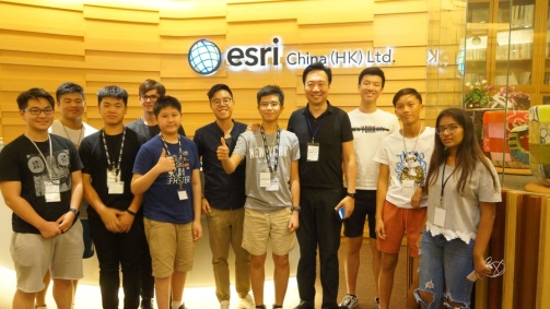 Students from Cybertecture Academy visited our office in Hong Kong.